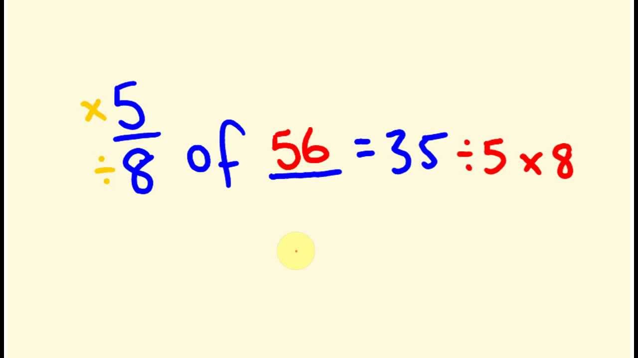 how to add a fraction to unknown