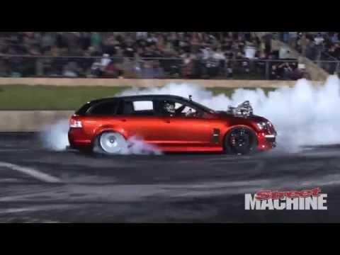 Burnout King - Perth Motorplex 2014