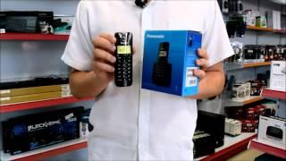 TELEFONE SEM FIO PANASONIC KX-TGB110 PRETO