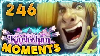 Hearthstone Karazhan Daily Funny and Lucky Moments Ep. 246 | Barnes saves the Day!!