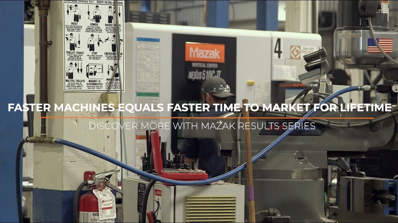 Discover More with Mazak Results Series: Episode 31 - Lifetime Products