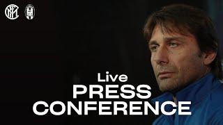 INTER vs CROTONE | LIVE | ANTONIO CONTE PRE-MATCH PRESS CONFERENCE | 🎙️⚫🔵 [SUB ENG]