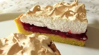 Летний ягодный пирог с меренгой Meringue Berry Pie