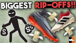 Top 10 Biggest Football Boot Rip-Offs!!