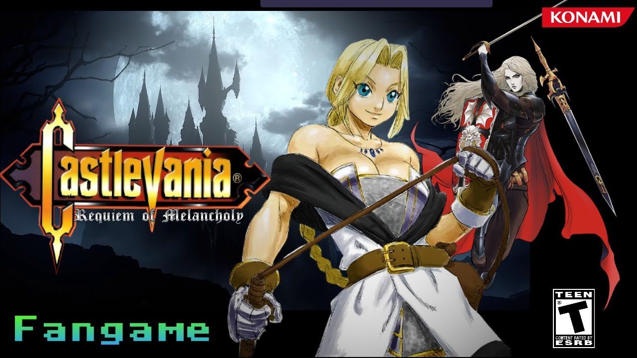 Castlevania Zero 2: Requiem of Melancholy - Fan Game (PC)