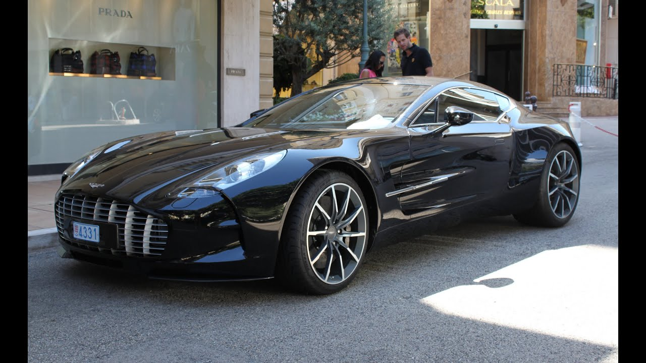 Aston Martin One 77 Start Up Amp Accelerations In Monaco