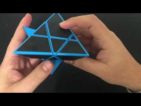 Ghost Pyraminx unboxing + Scrambled