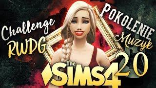 ŚLUBY, CIĄŻE, JEST ŁAZIENKA! + dużo pecha -   MUZYK   - The Sims 4 Challenge RWDG #20