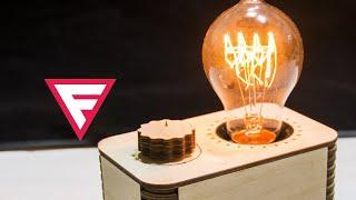 Лампа Эдисона с регулировкой яркости (диммером) своими руками