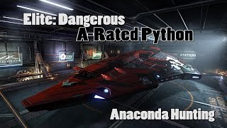 Elite: Dangerous - A-Rated Python - Let's Go 'Conda Huntin'!
