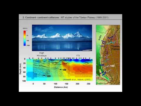 Martyn Unsworth - Magnetotelluric studies of continental dynamics