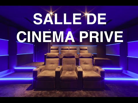 salle de cin ma priv france youtube. Black Bedroom Furniture Sets. Home Design Ideas