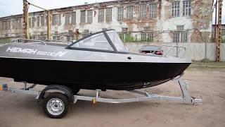 Видеообзор алюминиевой моторной лодки Неман 550 DC