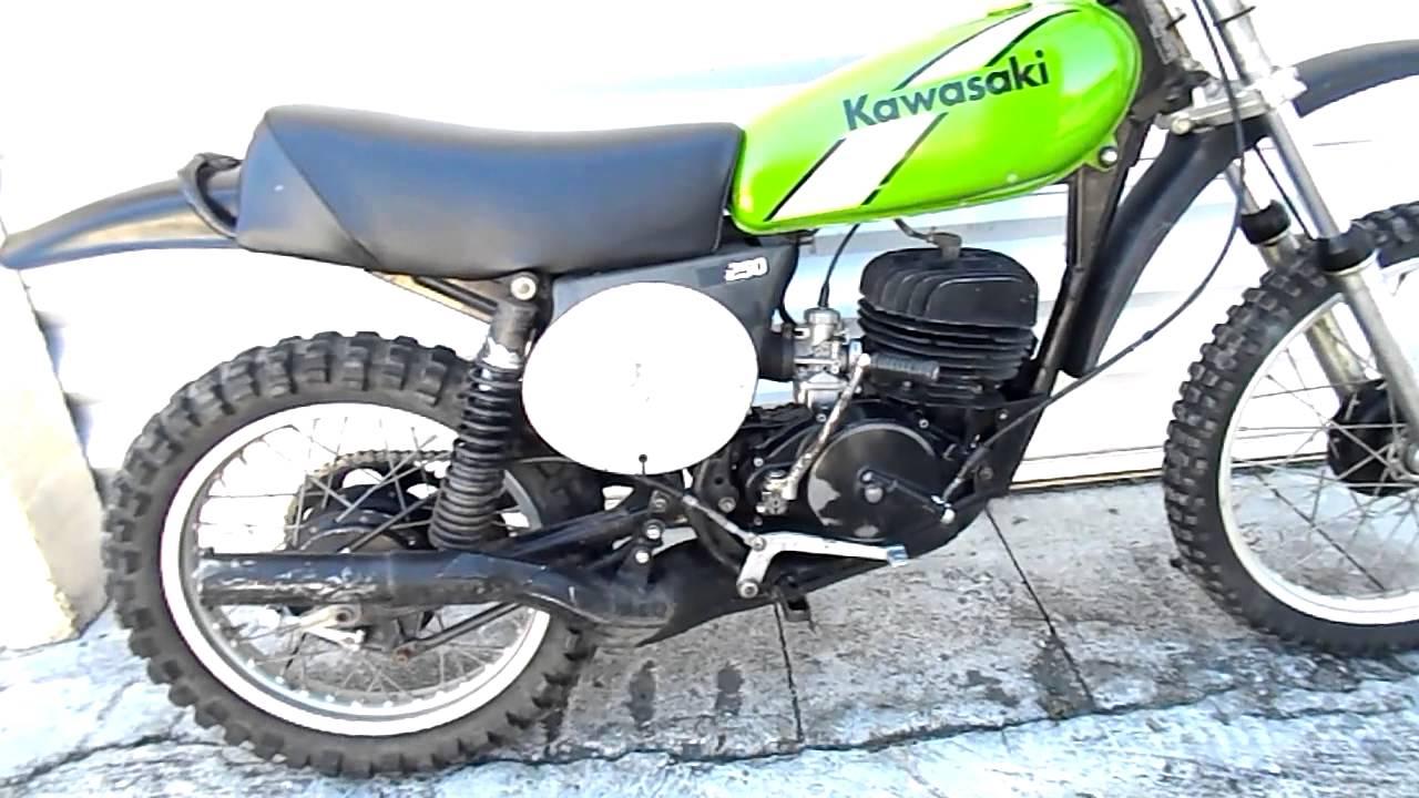 1975 kawasaki 250 dirt bike