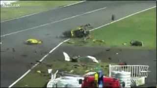 2013 NEW Live Leak Video - Ferrari 458 Horror crash at Suzuka - BAD!