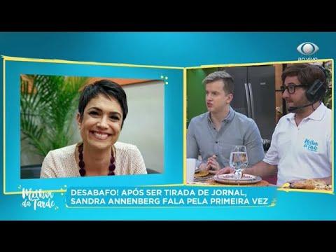 Sandra Annenberg se manifesta sobre saída do Jornal Hoje