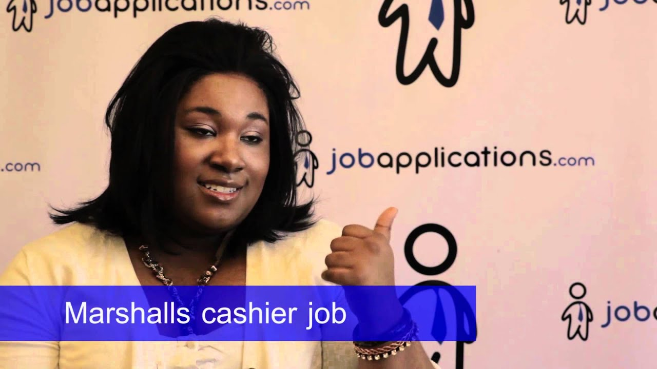 marshalls interview - cashier