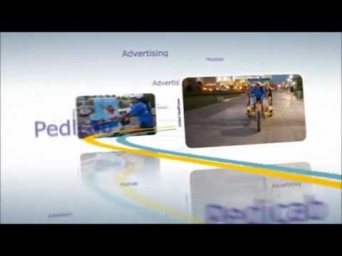 San Diego Convention Outdoor Advertising - www.yellowbikecab.com - (619) 200-8495