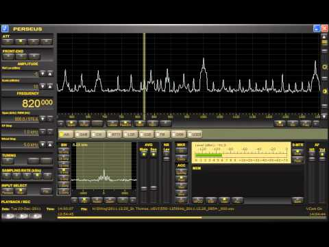 Radio Paradise (St. Kitts & Navis) 820kHz 12/20/11 13:59- UTC - Station Announcement
