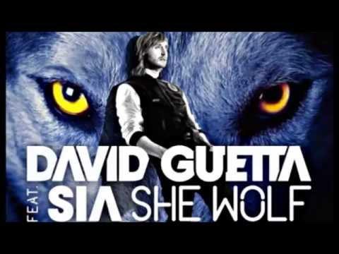 David Guetta(ft.Sia) - She Wolf (Piano Version) + LYRICS