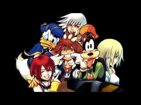 Kingdom Hearts- Sora's Four Best Friends