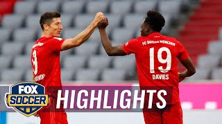Bayern crushes Fortuna Düsseldorf, inches closer to 8th straight title | 2020 Bundesliga Highlights