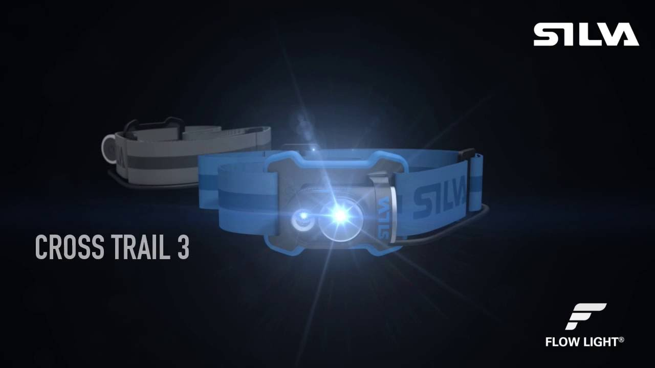 SILVA Cross Trail 3 - headl& for multi-athletes & SILVA Cross Trail 3 - headlamp for multi-athletes - YouTube
