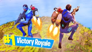 *NEW* FORTNITE JETPACK FLYING KILLS! (Battle Royale)
