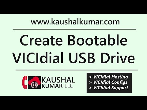 Create Bootable USB Thumb Drive for VICIdial installation - Tutorial