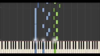 Yann Tiersen - La Longue Route (Synthesia Tutorial)