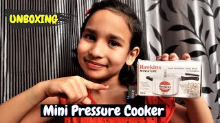 Hawkins Miniature Toy Cooker, Silver (MINI) UNBOXING| #LearnWithPari #Aadyansh