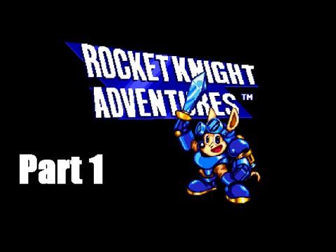 Let's play Rocket Knight Adventures Part 1 - Josh plays  