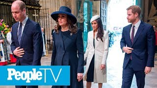 See Meghan Markle Step Out With Prince Harry & The Queen In Biggest Royal Debut | PeopleTV