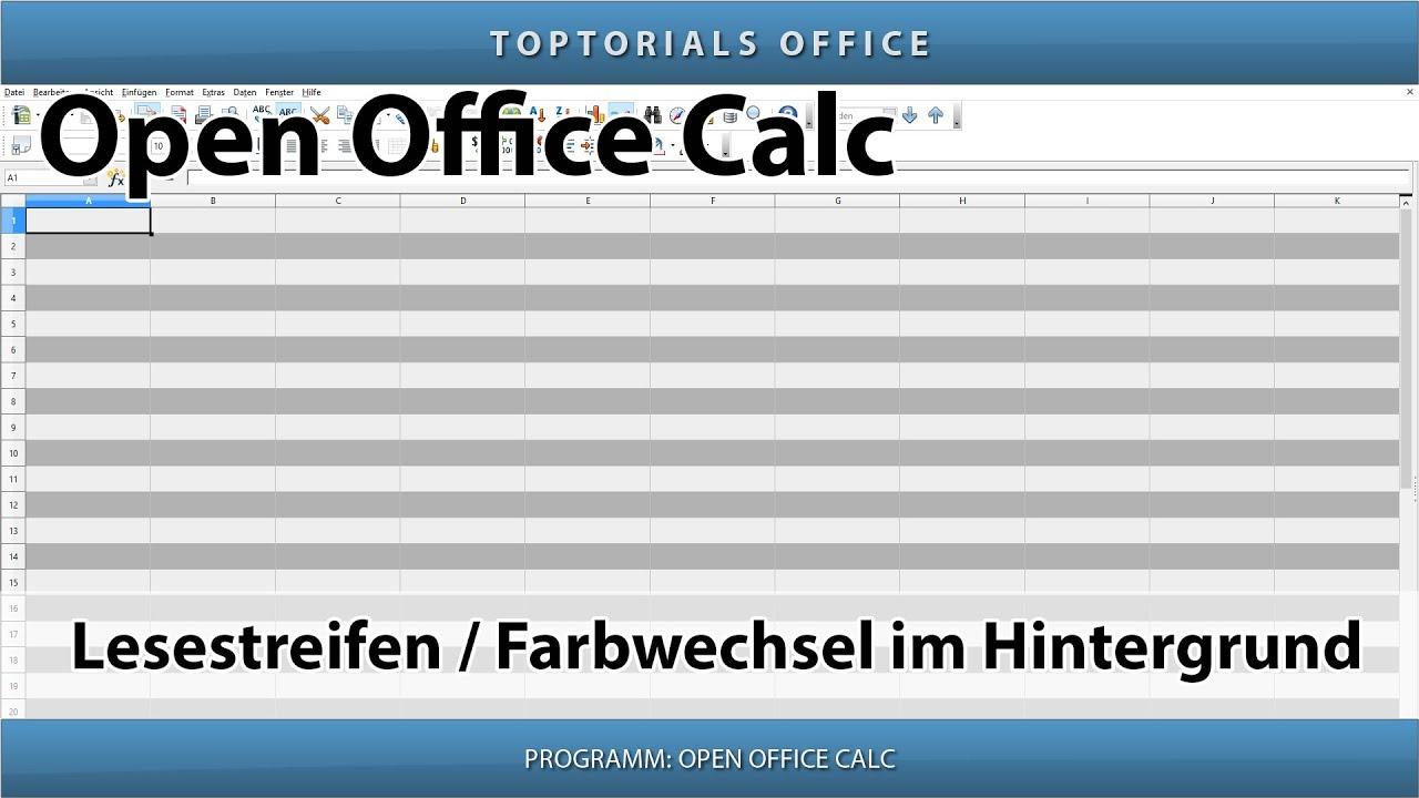 Open office hintergrund von bild entfernen