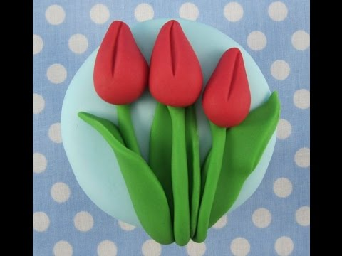 How To Makea Tulip Cupcake By Mrs Baker S Cake School