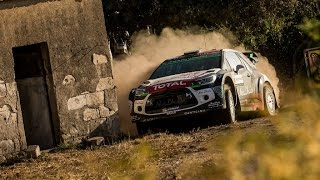WRC Italy Sardegna 2015 - Drift and Crash Kubica - Pure Sound - Shakedown [3]