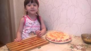 Первый кулинарный урок Алиюши