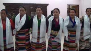 Sherpa Dance, Tashi Solup at Kathmandu Sherpa Lhosar Picnic 2014,