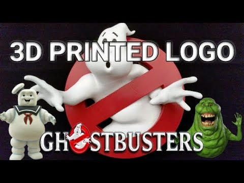 3D Printed Ghostbuster Logo [Time-lapse] Thingiverse STL File