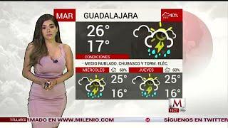 Pamela Longoria nos da el clima para hoy 24 de Julio