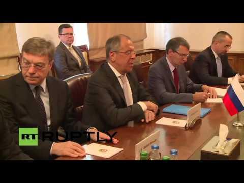 LIVE: Lavrov and Azerbaijani FM Mammadyarov talk to press in Baku - English