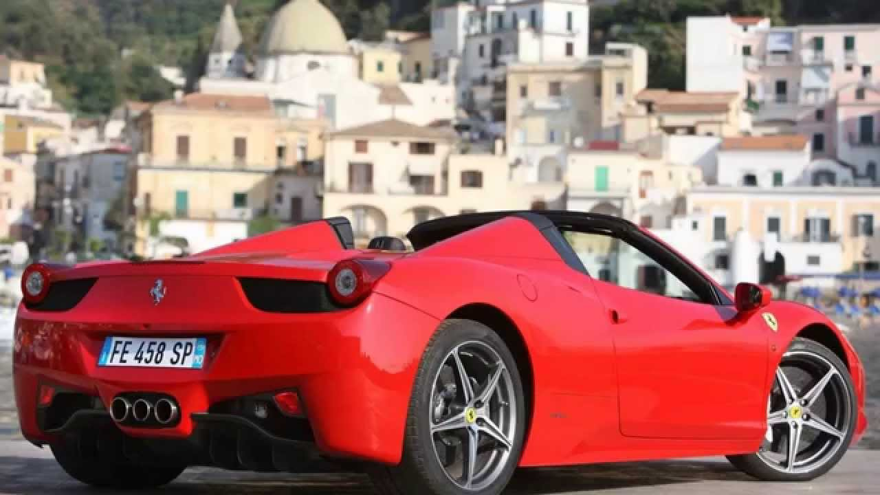 Ferrari 458 Spider (2013)   YouTube