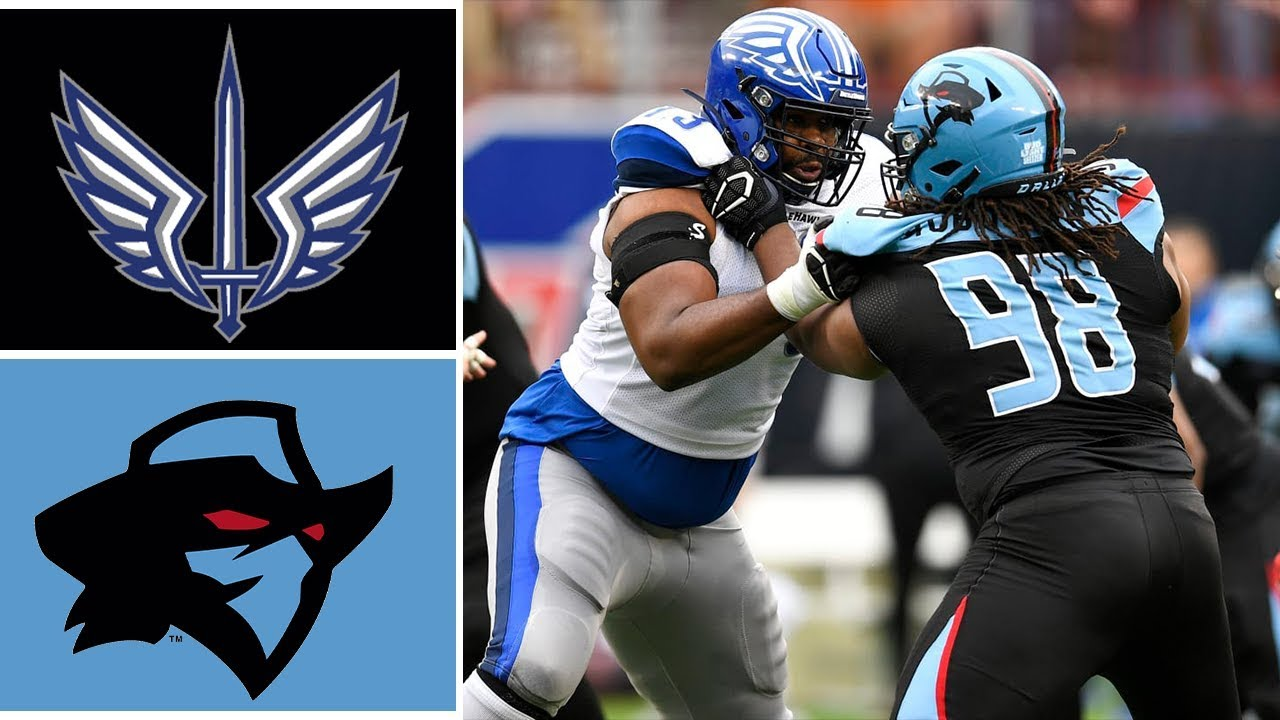 St Louis BattleHawks vs Dallas Renegades Highlights | 2020 XFL Football Highlights
