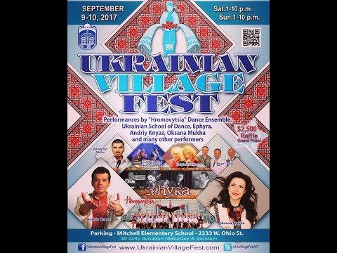 Ukrainian Village Fest in Chicago (Saturday, 09/09/2017)