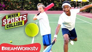 WHEN SPORTS COLLIDE | Grand Slam Set (Baseball + Tennis)