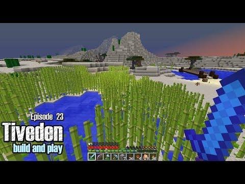 Minecraft Build & Play - Tiveden #23 - Reed Farm and Bridge Build