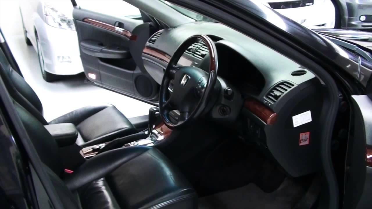 honda inspire 30tl 2005 leather interior 3 0l auto youtube