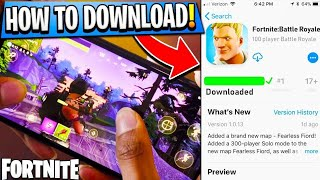 Fortnite Mobile Download Now 1000% working|| Apk + Obb || All phones supported with direct link