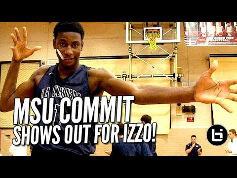 Jaren Jackson Jr. Shows Out for Coach Izzo! Skilled 5-Star, 6'10 17 yr old Leads #2 La Lumiere!