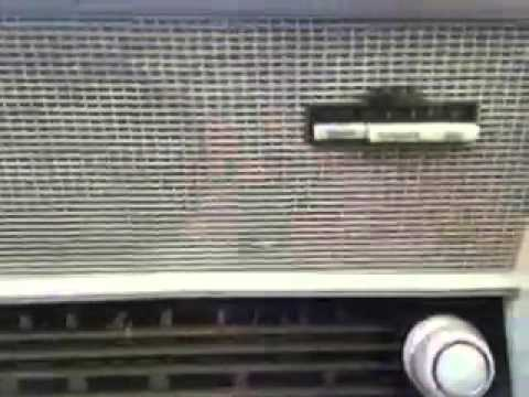 1959 Nordmende Sterling Elektra USA Tube Radio